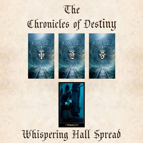 The Chronicles of Destiny Whispering Hall Spread, Chronicles challenge
