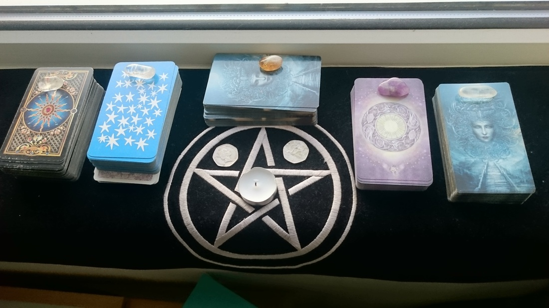 The Chronicles of Destiny Fortune Cards. Recharging tarot and oracle cards Solar Eclipse